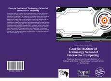 Georgia Institute of Technology School of Interactive Computing kitap kapağı