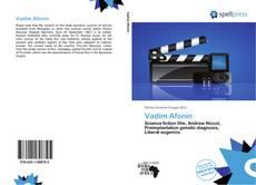 Buchcover von Vadim Afonin