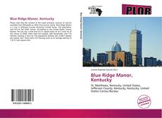 Buchcover von Blue Ridge Manor, Kentucky