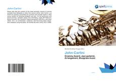 Bookcover of John Carlini