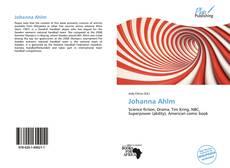 Bookcover of Johanna Ahlm