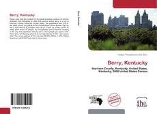 Capa do livro de Berry, Kentucky