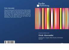 Capa do livro de Orok Akarandut