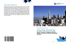 Buchcover von Clay City, Kentucky