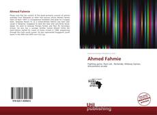 Bookcover of Ahmed Fahmie