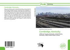 Buchcover von Cambridge, Kentucky