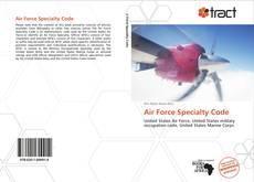 Capa do livro de Air Force Specialty Code
