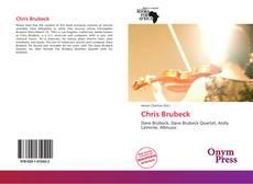 Buchcover von Chris Brubeck