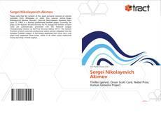 Borítókép a  Sergei Nikolayevich Akimov - hoz