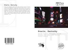 Capa do livro de Evarts, Kentucky