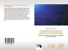 Couverture de Chungshan Institute of Science and Technology