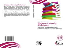 Bookcover of Wesleyan University (Philippines)
