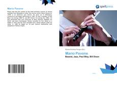 Bookcover of Mario Pavone