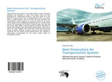 Bookcover of Next Generation Air Transportation System