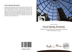 Обложка Green Spring, Kentucky