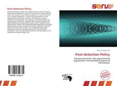 Post-detection Policy kitap kapağı