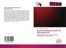 Buchcover von Owen Graduate School of Management