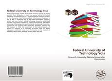 Federal University of Technology Yola的封面