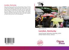 Portada del libro de London, Kentucky