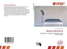 Bookcover of Oksana Akinshina