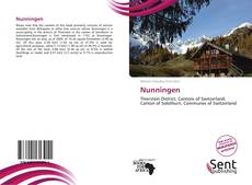 Bookcover of Nunningen