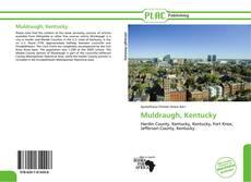 Capa do livro de Muldraugh, Kentucky