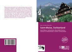 Copertina di Saint-Blaise, Switzerland