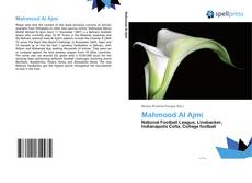 Bookcover of Mahmood Al Ajmi