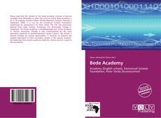 Bookcover of Bede Academy