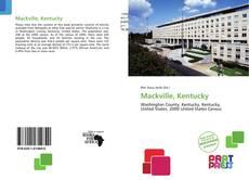 Capa do livro de Mackville, Kentucky