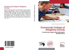 Bookcover of Community College of Allegheny County