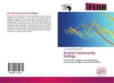 Bookcover of Sinclair Community College