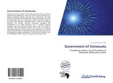 Bookcover of Government of Venezuela