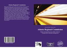 Bookcover of Atlanta Regional Commission