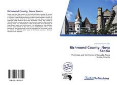 Bookcover of Richmond County, Nova Scotia