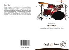Bookcover of Herb Hall