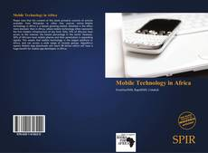 Couverture de Mobile Technology in Africa
