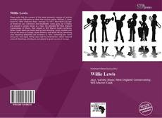 Bookcover of Willie Lewis