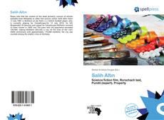 Capa do livro de Salih Altın
