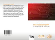 Bookcover of International Health