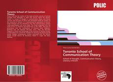 Bookcover of Toronto School of Communication Theory