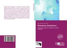 Directory Assistance kitap kapağı