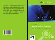 Bookcover of Communications in Afghanistan