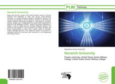 Bookcover of Norwich University