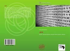 Capa do livro de .pro