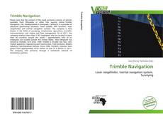 Bookcover of Trimble Navigation