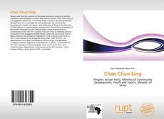 Couverture de Chan Chun Sing
