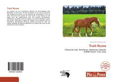 Bookcover of Trait Russe