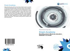 Capa do livro de King's Academy