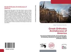 Bookcover of Greek Orthodox Archdiocese of America